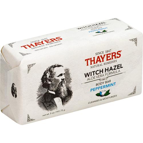 THAYERS - WITCH HAZEL BODY BAR (Peppermint) - 5oz