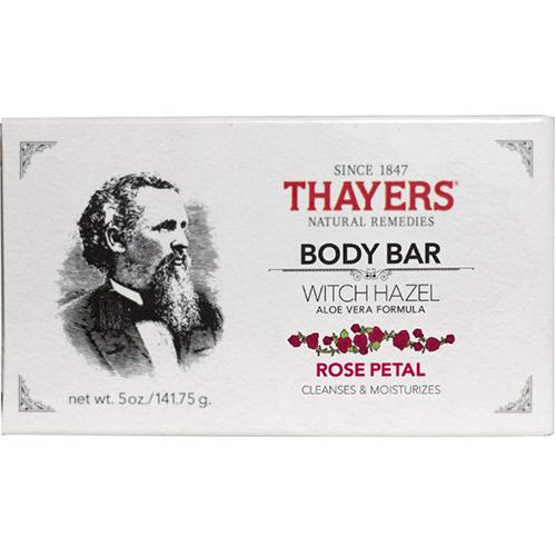 THAYERS - WITCH HAZEL BODY BAR (Rose Petal) - 5oz