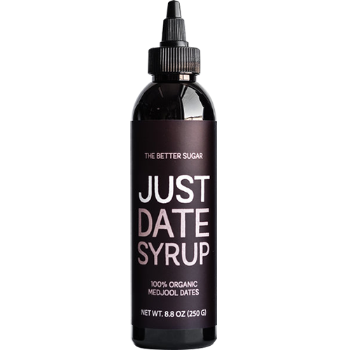 THE BETTER SUGAR - JUST DATE SYRUP - 100% ORGANIC CALIFORNIA DATES - 8.8oz