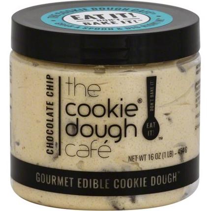 THE COOKIE DOUGH CAFE - GOURMET EDIBLE COOKIE DOUGH - (Chocolate Chip) - 16oz