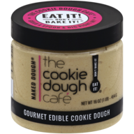 THE COOKIE DOUGH CAFE - GOURMET EDIBLE COOKIE DOUGH - (Naked Dough) - 16oz