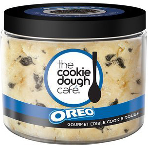 THE COOKIE DOUGH CAFE - GOURMET EDIBLE COOKIE DOUGH - (Oreo) - 16oz