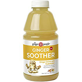 THE GINGER PEOPLE - GINGER SOOTHER - (with Turmeric) - 32oz