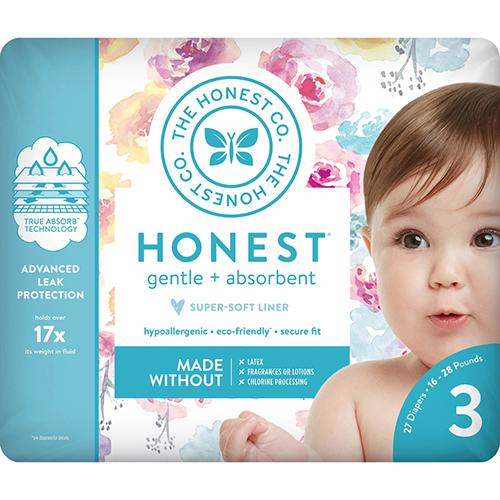 THE HONEST CO. - HONEST GENTLE + ABSORBENT - (Step3) - 27PCS