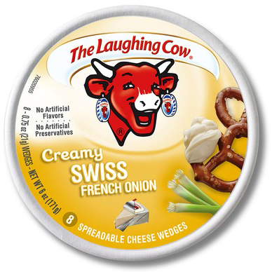 THE LAUGHING COW - CREAMY SWISS - (French Onion) - 8oz