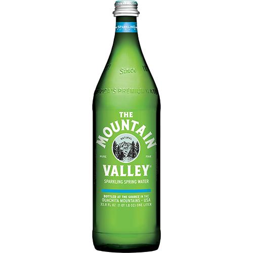 THE MOUNTAIN VALLEY - SPARKLING WATER - (Plain) - 33.8oz