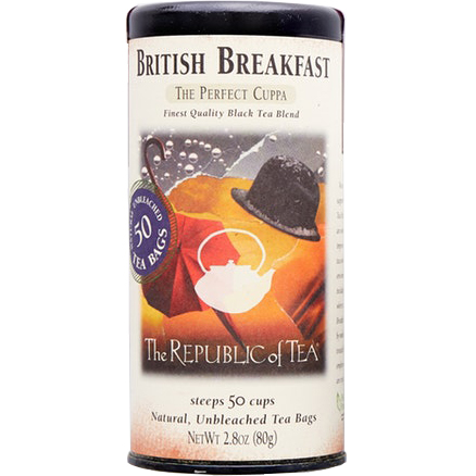 THE REPUBLIC OF TEA - BRITISH BREAKFAST - 2.8oz