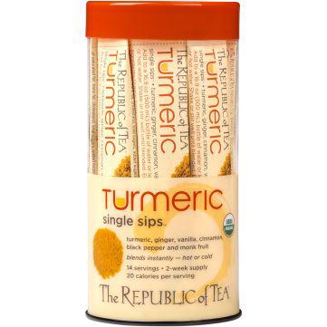 THE REPUBLIC OF TEA - TURMERIC - 14PCS