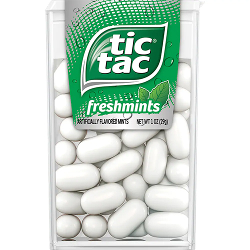 TICTAC (Fresh Mints) - 1oz
