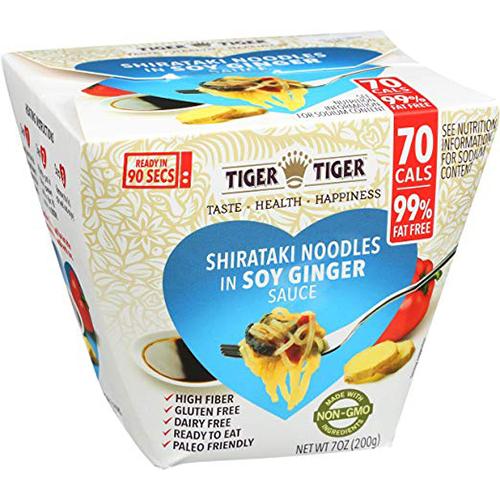 TIGER TIGER - SHIRATAKI NOODLES - (Soy Sauce) - 7oz