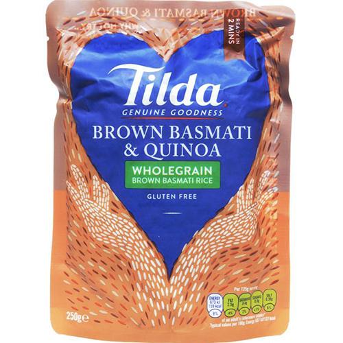 TILDA - BROWN BASMAI QUINOA & PUMPKIN SEEDS - 8.5oz