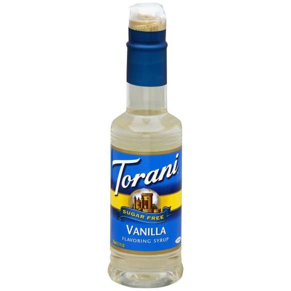 TORANI - SUGAR FREE VANILLA FLAVORING SYRUP - 12.7oz