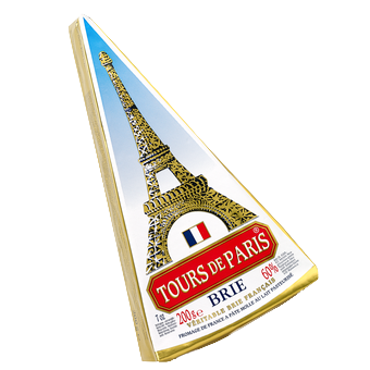 TOURS DE PARIS - BRIE CHEESE - 7oz