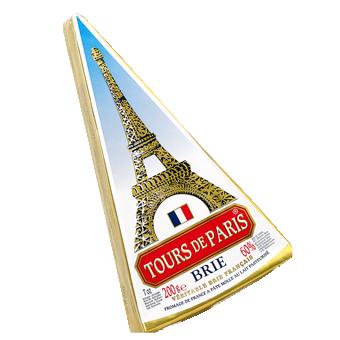 TOURS DE PARIS - BRIE CHEESE - 7oz