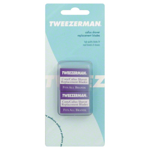 TWEEZERMAN - CALLUS SHAVER REPLACEMENT BLADES - 20 Blades