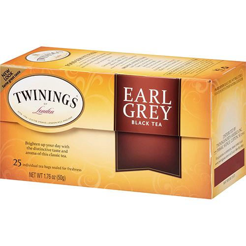 TWININGS - BLACK TEA - (Earl Grey) - 20bags