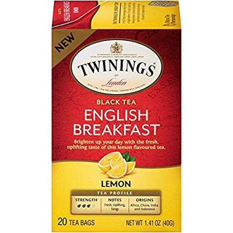 TWININGS - BLACK TEA - (English Breakfast | Lemon) - 20bags