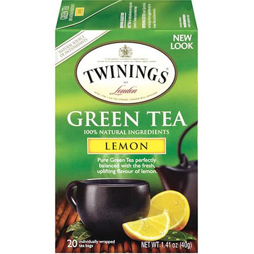 TWININGS - GREEN TEA - (Lemon) - 20bags