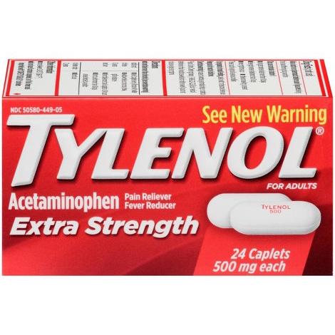 TYLENOL - Extra Strength - 24CAPSULES
