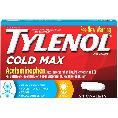 TYLENOL - (Cold Max) - 24TABLETS