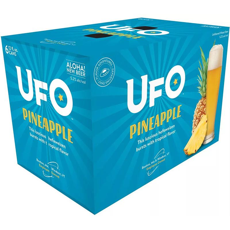 UFO - (Can) - (Pineapple) - 12oz(6PK)