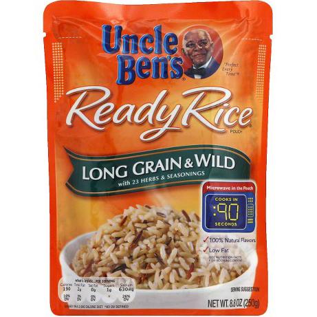 UNCLE BEN'S - READY RICE - (Long Grain & Wild) - 8.8oz
