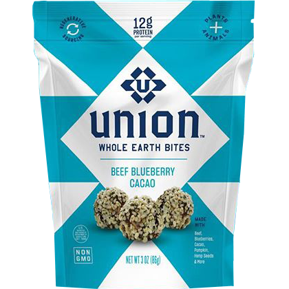 UNION - WHOLE EARTH BITES - (Beef Blueberry Cacao) - 3oz