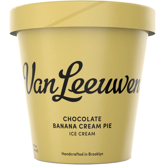VAN LEEUWEN - (Chocolate Banana Cream Pie) - 14oz