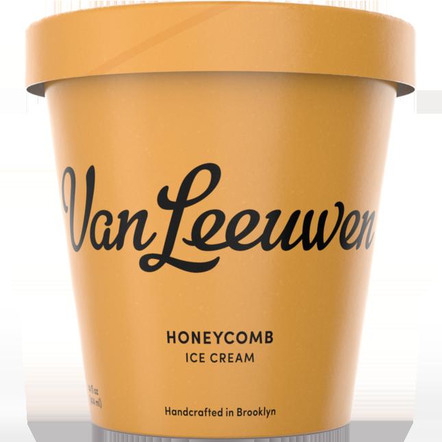 VAN LEEUWEN - (Honeycomb) - 14oz