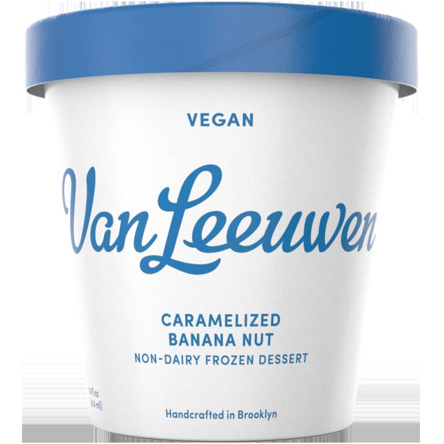 VAN LEEUWEN - VEGAN - (Caramelized Banana Nut) - 14oz