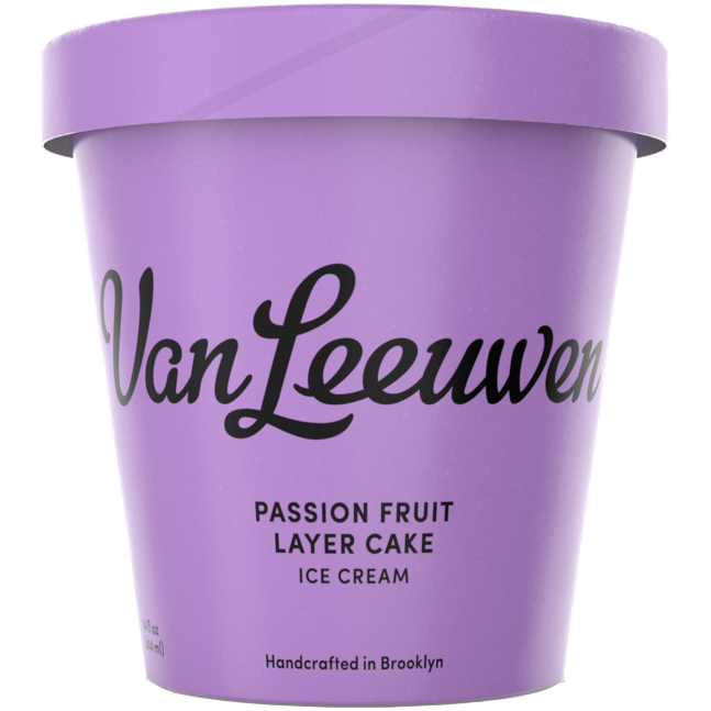 VAN LEEUWEN - (Passion Fruit Layer Cake) - 14oz