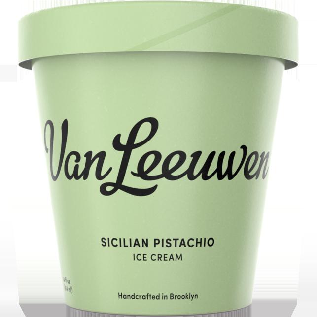VAN LEEUWEN - (Sicilian Pistachio) - 14oz