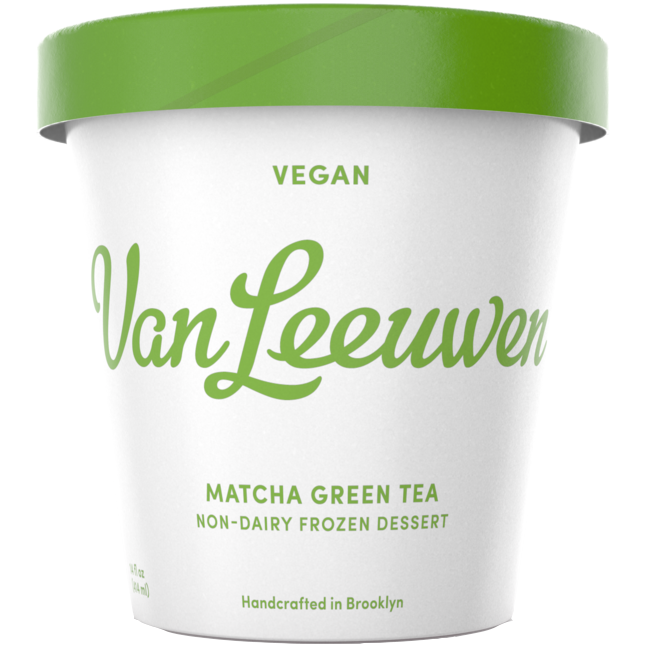VAN LEEUWEN - VEGAN - (Matcha Green Tea) - 14oz