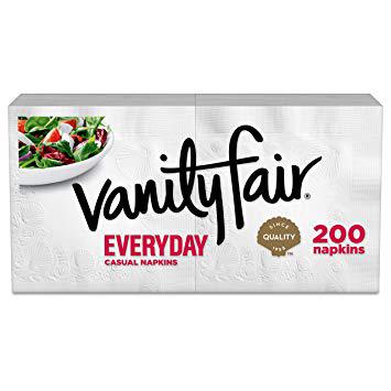 VANITY FAIR - EVERYDAY NAPKINS - 200counts