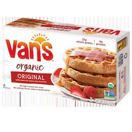 VANS - ORGANIC ORIGINAL WAFFLES - NON GMO - 8oz