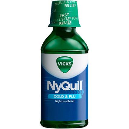 VICKS - NYQUIL - (COLD&FLU) - 8oz