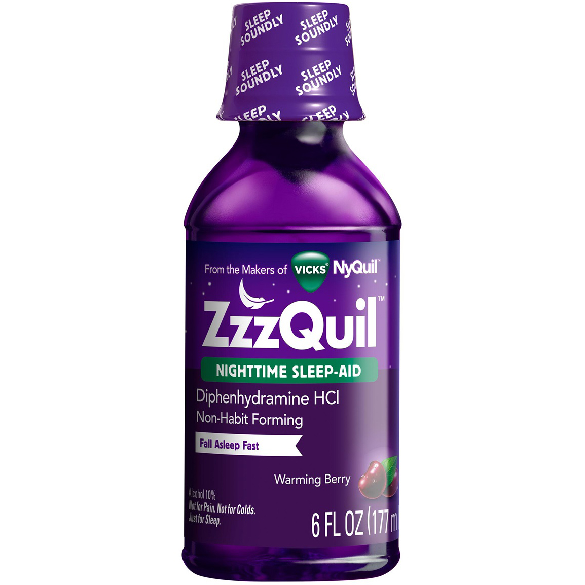 VICKS - ZzzQUIL - (Nighttime Sleep Aid) - 6oz