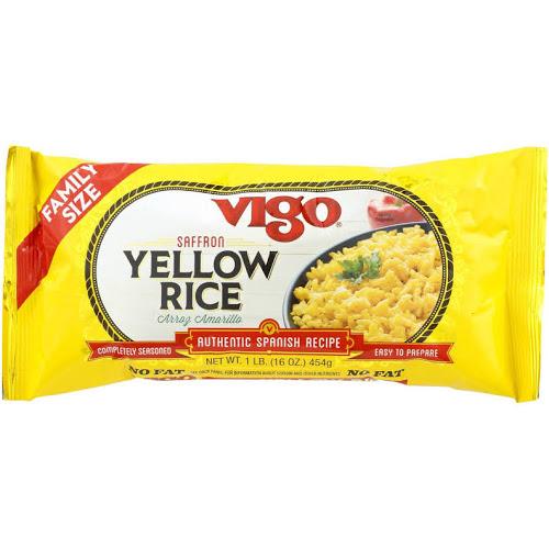 VIGO - YELLOW RICE - LOW SODIUM - 8oz