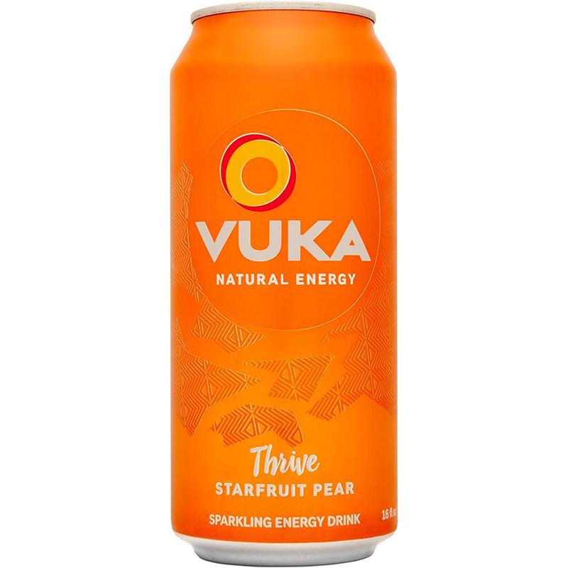 VUKA - NATURAL ENERGY - (Thrive | Starfruit Pear) - 16oz