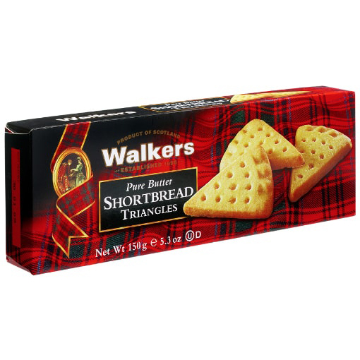 WALKERS - PURE BUTTER SHORTBREAD TRIANGLES - 5.3oz