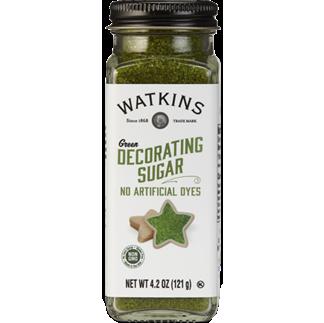 WATKINS - DECORATING SUGAR (Green) - 4.6oz