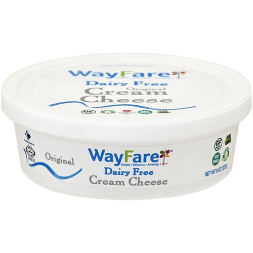 WAY FARE - DAIRY FREE CREAM CHEESE - 8oz