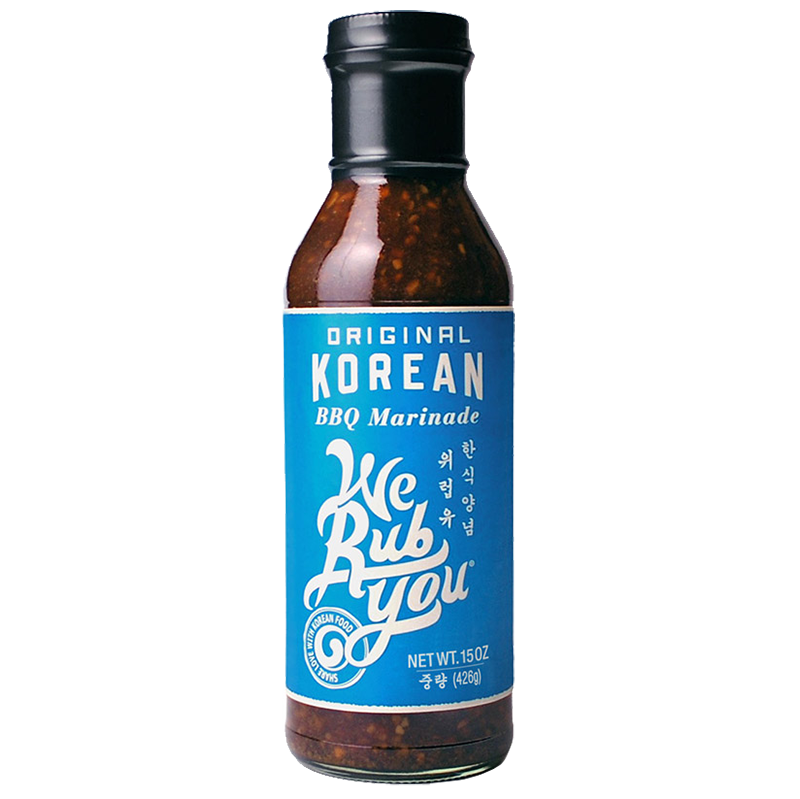 WE RUB YOU - BBQ SAUCE - KOREAN - (Original) - 15oz