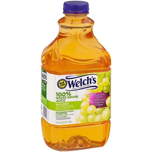 WELCH'S - 100% GRAPE JUICE - (White Grape) - 64oz