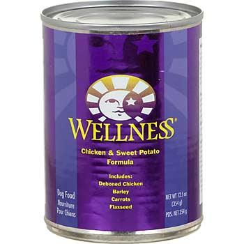 WELLNESS - (Chicken & Sweet Potato Formula) - 12.5oz