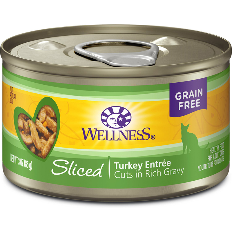 WELLNESS - HEALTHY FOOD FOR ADULT CATS - (Turkey Entree) - 3oz
