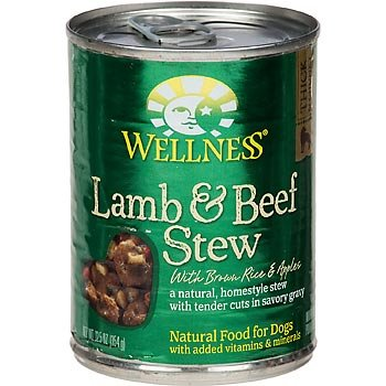 WELLNESS - LAMB & BEEF STEW - (/w Brawn Rice & Apples) - 12.5oz