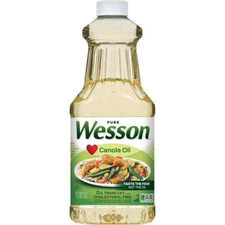 WESSON - CANOLA OIL - 48oz