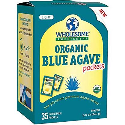 WHOLESOME! - ORGANIC BLUE AGAVE - NON GMO - GLUTEN FREE - 35PCS 8.6oz