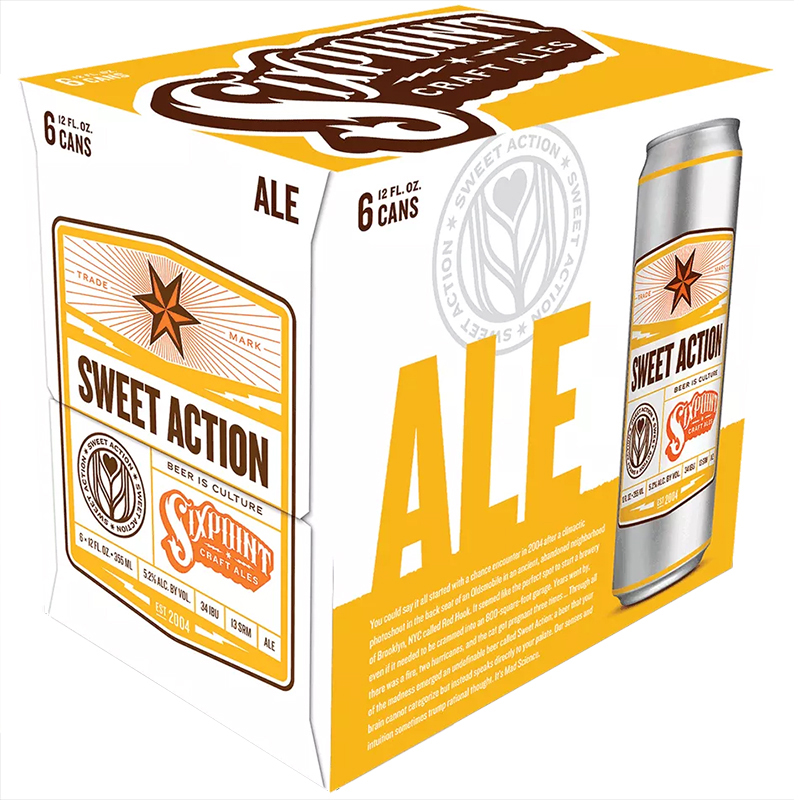 WOLFFER ESTATE - SWEET ACTION - ALE - (Can) - 12oz(6PK)
